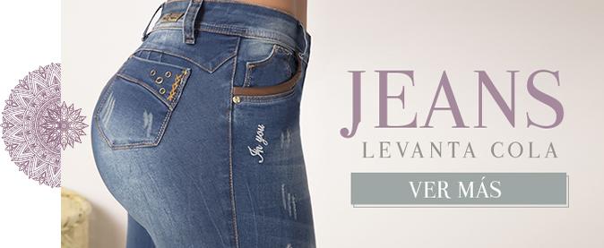 gran selección de bf5b2 3c3a3 Jeans Colombianos levanta cola - Jeans de moda para mujer al ...
