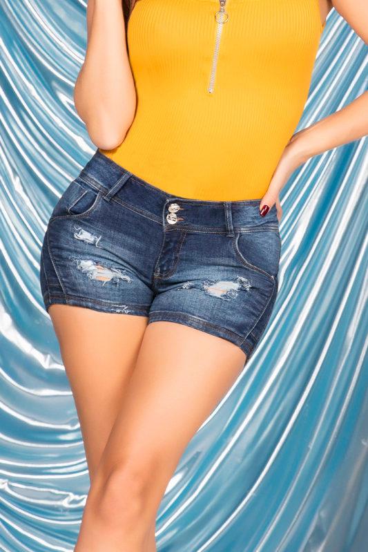 shorts colombianos - shorts levanta cola - shorts de moda- shorts para mujer- in you jeans