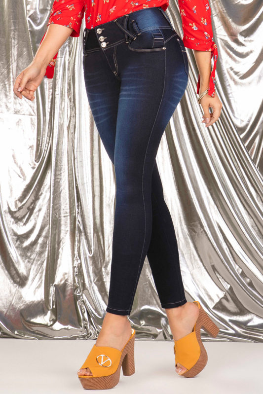 jeans colombianos - jeans levanta cola - jeans de moda- jeans para mujer- in you jeans